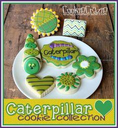 CookieCrazie: Buggin' Out: Caterpillar Cookies (Tutorial)