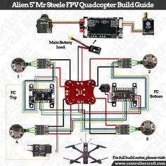 """Controller Craft Alien 5"""" Mr Steele Wiring Diagram"""