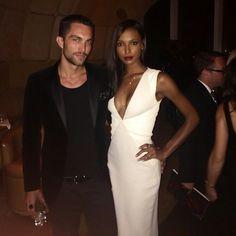 Gorgeous interracial couple Jasmine Toukes and Tobias Sorensen #love #wmbw #bwwm #favorite