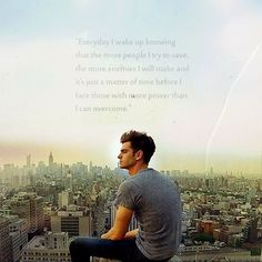 """""""Everyday I wake up knowing the more people I try to save, the more enemies I will make and its just a matter of time before I face those with more power than I can overcome"""" - Peter Parker"""
