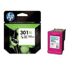 cool HP 301XL Tri-color Ink Cartridge - Cartucho de tinta para impresoras (Cian, magenta, Amarillo, Tri-color, Inyección de tinta, 20 - 80%, -40 - 60 °C, 15 - 32 °C) Si