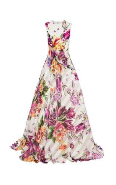 Silk Floral Gown by Alex Perry Resort 2019