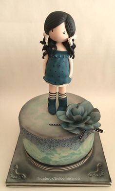 Gorjuss doll cake ww