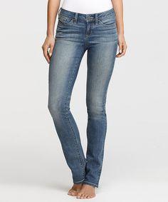 Vintage Denim Straight-Leg Jeans - Women by Yummie by Heather Thomson #zulily #zulilyfinds