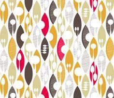 Spoons fabric by spellstone on Spoonflower - custom fabric