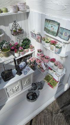 Flower shop by miniatyrmama