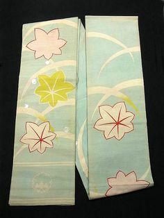 Maiko's darari obi - an extra long obi for apprentice geisha.