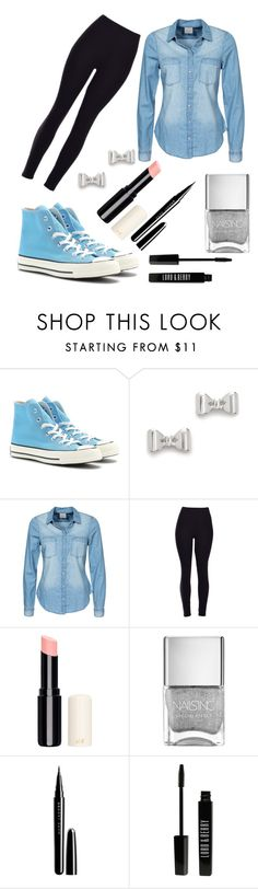 """""""Untitled #217"""" by fadedlipstick on Polyvore featuring Converse, Marc by Marc Jacobs, Vero Moda, Marc Jacobs and Lord & Berry"""