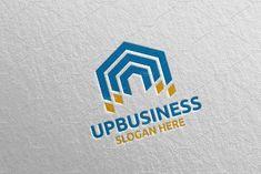 Arrow Digital Marketing Financial 58 by denayunebgt on @creativemarket Marketing Logo, Digital Marketing