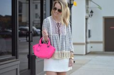 Hot Pink Oliver Bilou Purse - Adore More with Geor