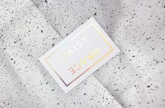 """Branding for Daisy Grace by 25AH """"Daisy Grace is a new Swedish fashion brand with dynamic collections that fit a wide variety of styles.The brand has two different personalities that reflect each other, where Daisy stands for the playful and Grace..."""