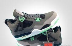 huge selection of a3d5c 4c0cf Air Jordan IV Green Glow Herrenschuhe, Air Jordan Iv, Michael Jordan Schuhe,  Nike