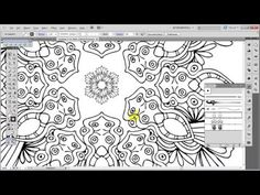 In this tutorial I will be showing you ways and techniques how to design an ornamental design as such using the Pen tool, the Width tool, the Transform Effec...