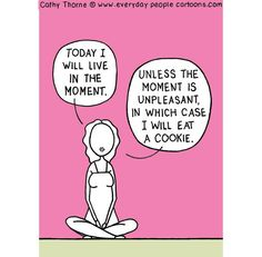 Magnet  Living in the Moment by CathyThorne on Etsy