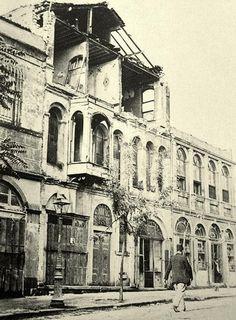 1894 İstanbul depremi sonrası (Çemberlitaş civarı)