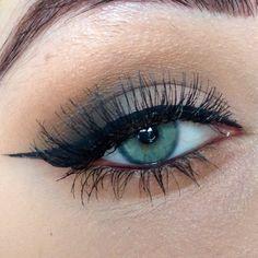 Warm Smokey Eye Makeup with Killer Flick. Makeup by Me. Instagram: @jenrahh Instagram: @soiree_makeup Facebook: Soirée Makeup