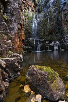 Wailing Widow falls - Assynt, Scotland  (copyright:  Barbara R Jones)