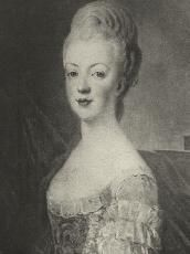 Marie Antoinette, 1773 by JS Duplessis