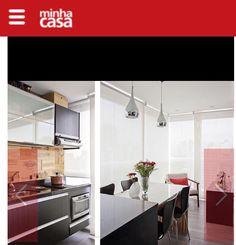 Idéias Internet - cozinha / sala