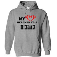 Belong to a Bricklayer - #tee aufbewahrung #sweatshirt tunic. CHEAP PRICE => https://www.sunfrog.com/Jobs/Belong-to-a-Bricklayer-4078-SportsGrey-4587824-Hoodie.html?68278