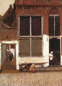 1657-8 Johannes Vermeer (Dutch) ~ The Little Street; Rijksmuseum, Amsterdam