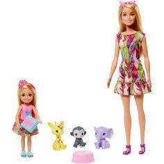 Mattel Barbie, Barbie Doll Set, Barbie Sets, Baby Barbie, Baby Dolls, Big Doll House, Barbie Dream House, Barbie Chelsea Doll, Barbie Playsets