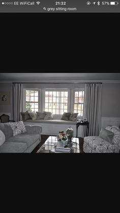 Curtains, Living Room, Home Decor, Blinds, Decoration Home, Room Decor, Sitting Rooms, Living Rooms, Draping