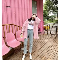 Winter Cardigan Outfit, Cardigan Outfits, Pink Cardigan, Winter Outfits, Pink Outfits, Cute Casual Outfits, Grunge Outfits, Girl Fashion, Womens Fashion