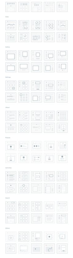 Designing an interface and need some UI ideas? Here's a quick awesome cheatsheet to get you going.