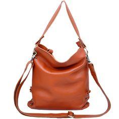 (FL002956) Leather Big Bag Shoulder Bag Messenger Bag Leisure Bags Korean Fashion Bags