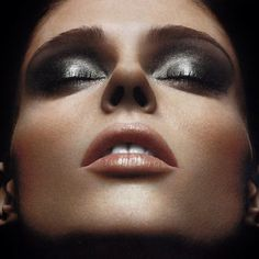 Coco Rocha. Chanel makeup for November 2011.