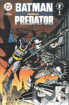 Batman Versus Predator (1991) No. 1