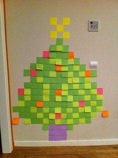 Img 0519 Cardboard Treepost It Artchristmas