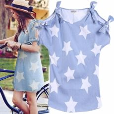 New Fashion Women Sexy Casual Loose Off Shoulder B...