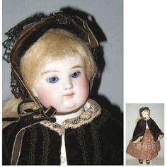 Très rare poupée parisienne de la maison HURET & LONCHAMBON (circa 1867-75)…