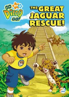Go Diego Go! - The Great Jaguar Rescue, 2007 Parents' Choice Award Approved Award - DVDs #DVD