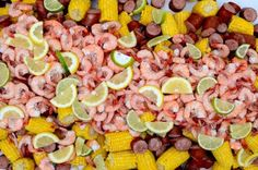 Low Country Boil, Savannah style.