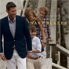 Brooks Brothers Legends - The Navy Blazer