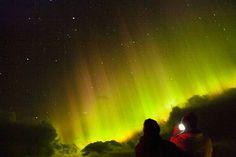 Hurtigruten - Nordlicht im März 2015