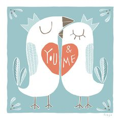 You and Me  Fine Art Print Large by FreyaArt on Etsy