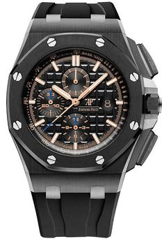 Shop for Audemars Piguet Royal Oak Offshore Chronograph Get free delivery On EVERYTHING* Overstock - Your Online Watches Store! Audemars Piguet Price, Audemars Piguet Watches, Audemars Piguet Royal Oak, Cool Watches, Watches For Men, Men's Watches, Royal Oak Offshore Chronograph, Online Watch Store, Burberry Men