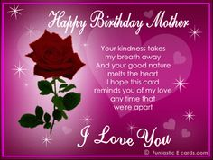 mom happy birthday facebook pic | Hope you like these Happy Birthday Mom greetings!