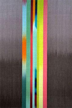 Color Stripe with Dark Grey. By Ptolemy Mann.