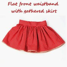 WIDI | Sewing blog | Step by Step instructions | Tutorials: Free pattern - phus phus skirt
