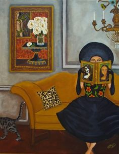 Lover, original painting by Catherine Nolin | DailyPainters.com