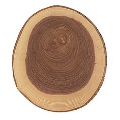Natural looking cutting board.
