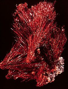 Ludlockite - Tsumeb And what I'm dubbing Fireworks of Stone.