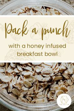 Our gluten-free almond and honey oatmeal bowl is perfect for those mornings you need a little pick-me-up, drizzled with delicious Necta & Hive Red Gum honey Gut Health, Health And Wellbeing, Honey For Cough, Gluten Free Porridge, Australian Honey, Power Bowl, Honey Benefits, Best Honey, Honey Recipes