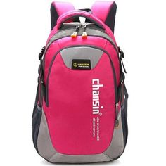 Yuocl Double-Shoulder Travel Backpack