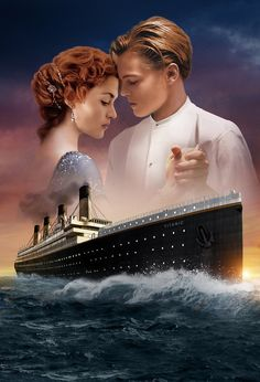 "3. Another one of Maggie's weaknesses is her love for Romantic Movies. The Titanic happens to be one of her favorite movies. She always seems to shed a tear when Rose says, ""I'll never let go."" Titanic Poster, Titanic Art, Titanic Photos, Titanic Ship, Kate Titanic, Rms Titanic, Titanic Drawing, Titanic History, Explain A Film Plot Badly"